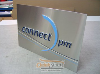 Stainless Steel and Acrylic Panel Sign