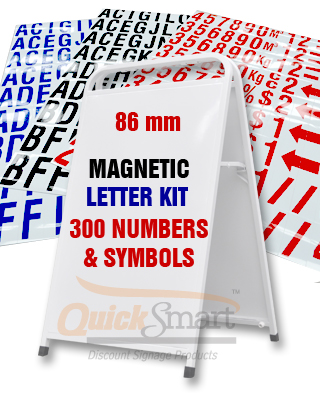 Super strong magnet letters